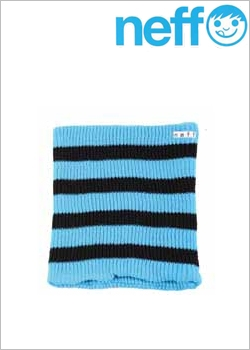 [NEFF]Daily Stripe Gaiter Cyan/Black