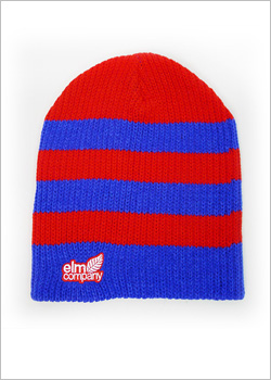 [ELM] The Fatty Beanie - red